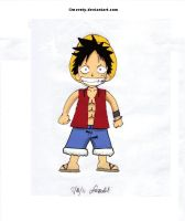 Monkey D. Luffy by Meroty