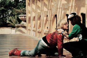 Tiger and Bunny: Comfort me by HRecycleBin