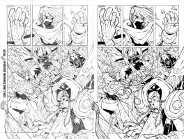 Exion page3 Pencils and Inks by DawidFrederik