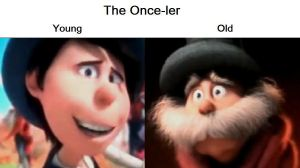 Once-ler Then and Now by youbigface1