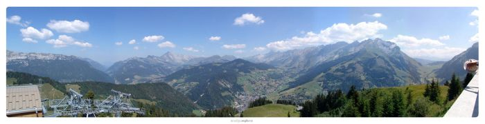 Les Alpes Panorama by cubemb