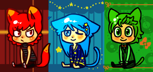 cat boy adopts by lazy-adoptables