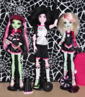 Ghoul Spirit 3 pack by rainbow1977