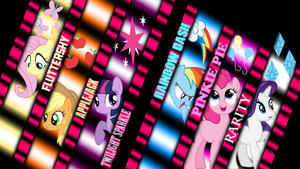 Mane 6 Wallpaper by XYZExtreme13