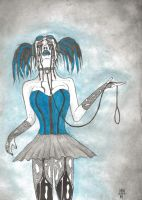 BLUE by Defaced-Fiend