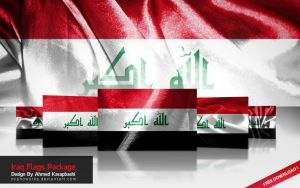 Iraq Flag Package {13} by mishoworks