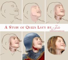 A Study of Queen Lucy's Face by tallterror