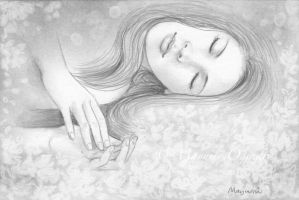 Sleeping Beauty - sketch by MayumiOgihara