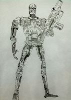T-800 Endoskeleton by dheaddy