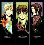 hp- deathly hallows bookmarks by chupachup