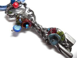 Passage Necklace no. 220 by sojourncuriosities