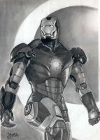 Iron Man Mark 3 by AmosRachman