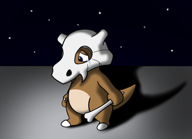 The Story of Cubone - Life Goes on Without Her by Ryusuta