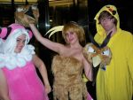 Flaaffy, dodrio, and pikachu by AngelicDemonSlayer