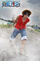 One piece luffy by 13coz
