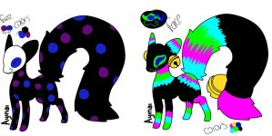 Mistifoxes auction(open) by BreeBreeAdopts