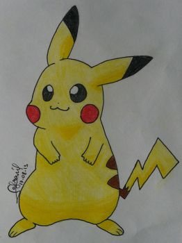 Pikachu (again) by Safranil