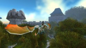 alkatra,wld of warcraft albino drake by whenwolveshowl