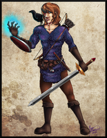 Commission: Salmas The Wanderer by Megophone