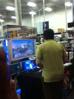 Smash Bros Best Buy Booth Picture 3 by AngelShadow3593