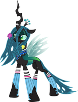 Ponymania Queen Chrysalis by TheShadowStone