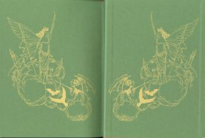 Endpapers: The Red Fairy Book by Himmapaan