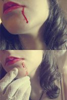 ups, my dress is bloody now by CrisRaquel