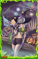 Halloween Hotties 3 - Goosebumps by theMASman