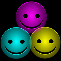 CMYK those colored smileys by mondspeer