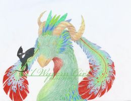 .:Paradise Dragon WIP:. by lilwyverngirl