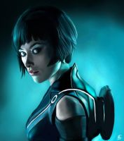 Quorra - Tron Legacy by TheSig86