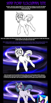 Shiny Pony Art Tutorial by Deathdog3000