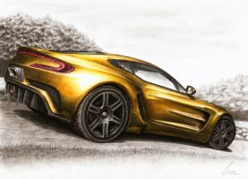 Aston Martin One-77 - In Memoriam by Medvezh