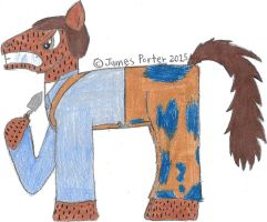 TCITW Judah Buckner, Ponified. by Rock-Raider