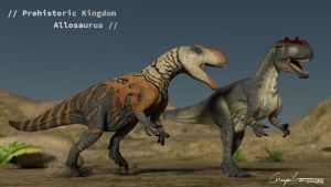 Jurassic Confrontation by c-compiler