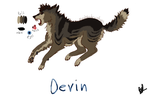 Devin by Bloodshadewolves