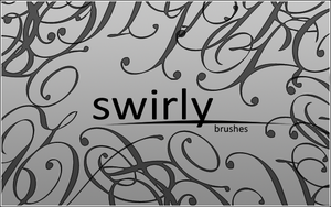 Swirly Brushes by starrily