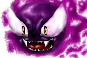 Anime_Realistic Gastly by AdvanceX
