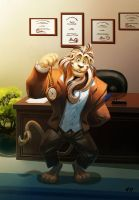 Doctor Lion by njay