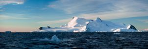 Antarctic Panorama by AlterEgoPhotography