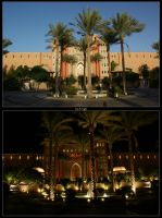 Makadi Palace - Day and Night by skywalkerdesign