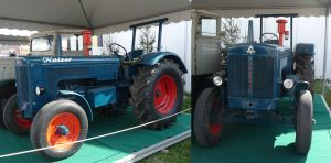 vintage tractor II by two-ladies-stocks