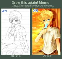 before after meme -Roxas- by sonnyaws