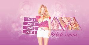 Ashley Benson Header PSD by fr-eedom