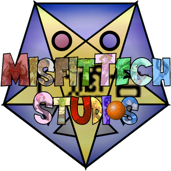 Old School MisfitTech Studios Logo by LordMisfit