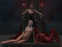 The Mistress and her Pets (2) by Kajiras