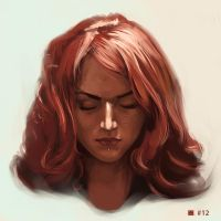 no.12 - Newsha Ghasemi by Sickbrush