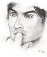 Ian Somerhalder - Damon Salvatore by Bree-Style