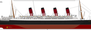 RMS Aquitania by Crystal-Eclair