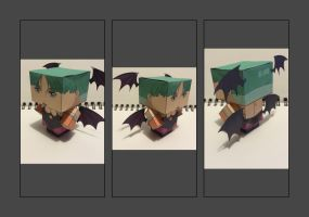 Cubee - Morrigan by BDRomeArt